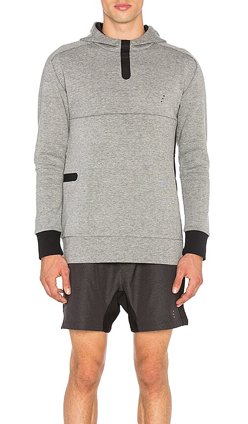Zanerobe REC Hood Tech Sweatshirt in Grey
