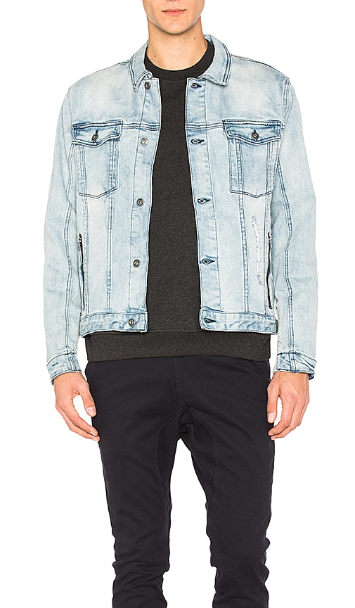 Zanerobe Greaser Denim Jacket in Blue