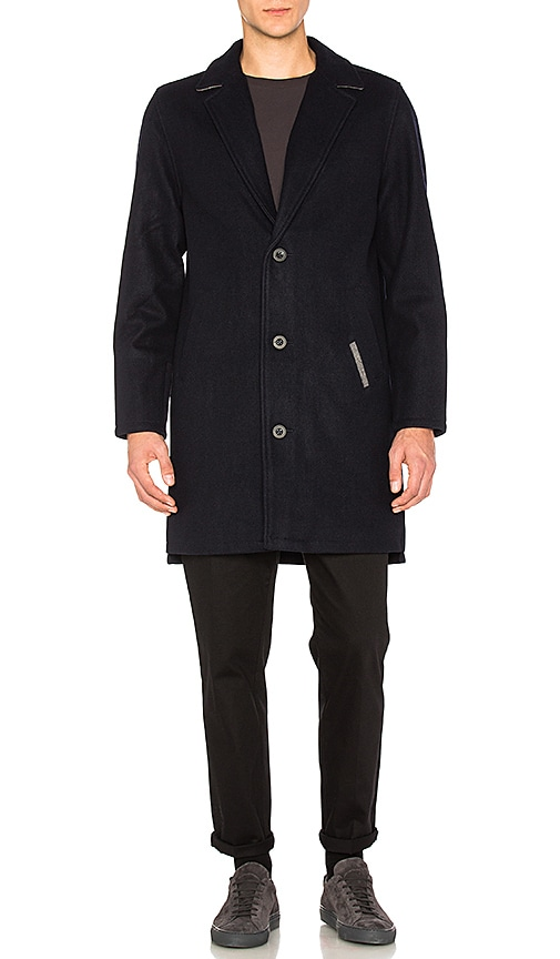 Zanerobe Kaplan Coat in Navy