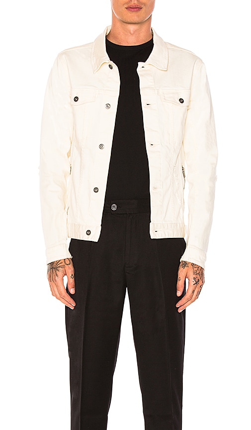 Zanerobe Greaser Denim Jacket in Ivory
