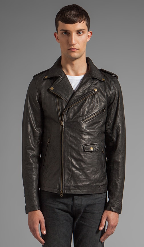 Crosstown Leather Jacket