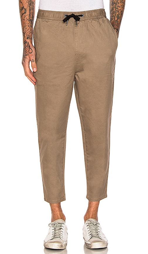 Zanerobe Cropshot Chinos in Tan