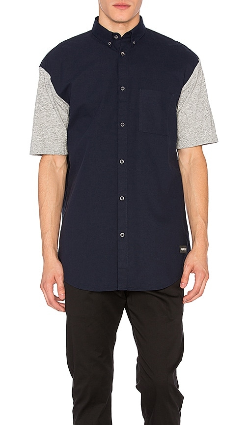 Zanerobe Seven Foot Shirt in Navy