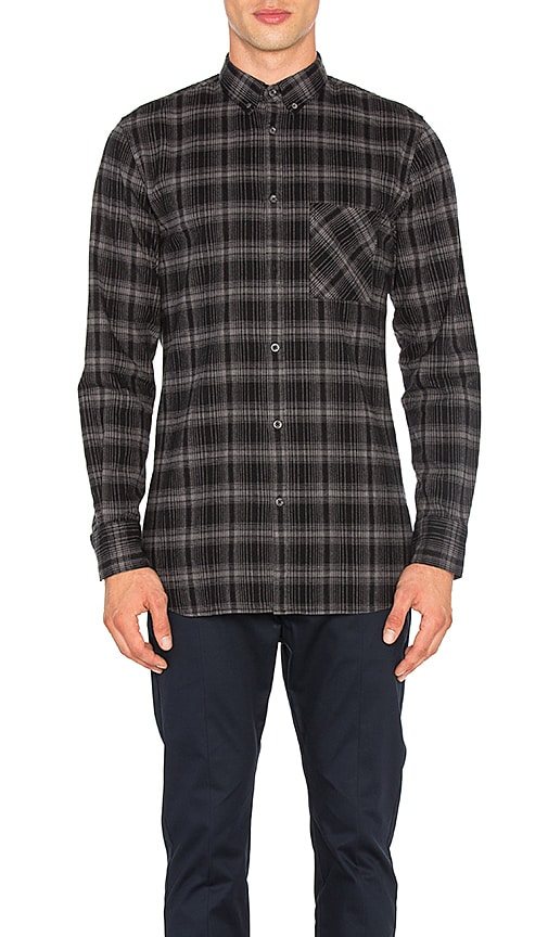 Zanerobe Flannel Seven Foot Shirt in Black