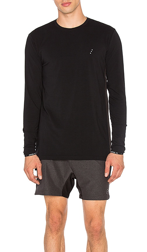 Zanerobe REC Flintlock Long Sleeve Tee in Black