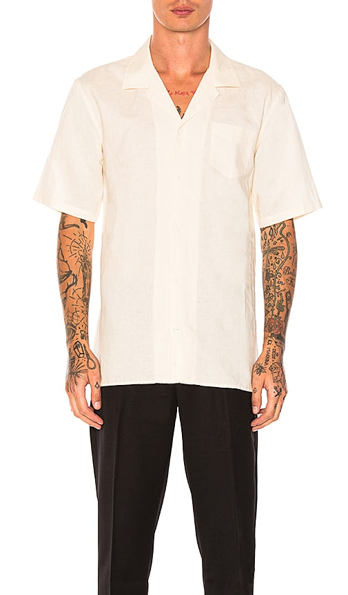 Zanerobe Camper Box Ss Shirt in Ivory