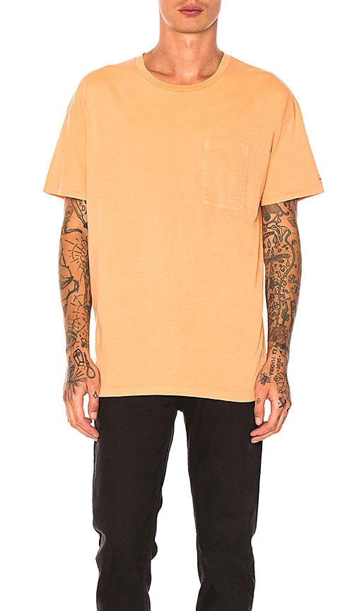 Zanerobe Rugger Pocket Tee in Orange