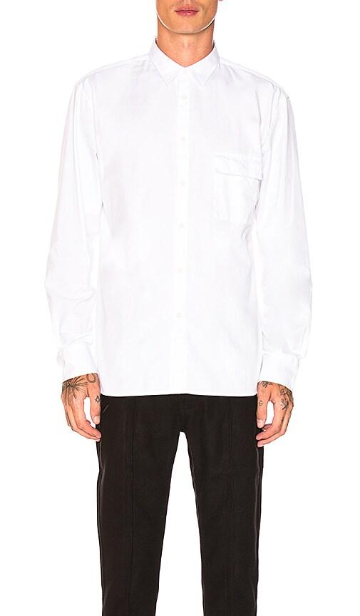 Zanerobe Box Longsleeve Shirt in White