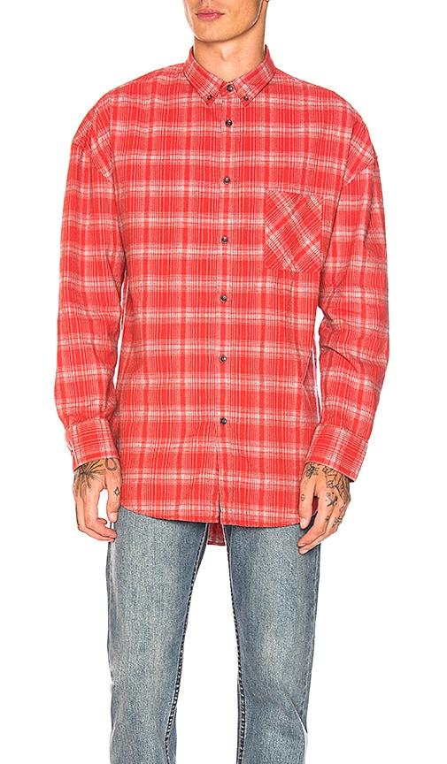 Zanerobe Rugger Longsleeve Shirt in Red