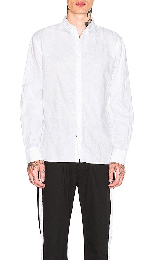 Zanerobe Linen Shirt in White