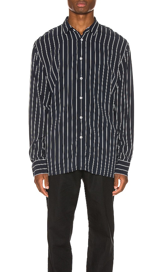 Pinstripe Long Sleeve Shirt
