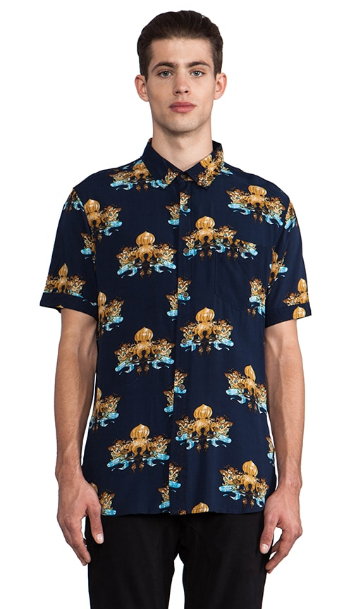 Atlantis Short Sleeve Button Down