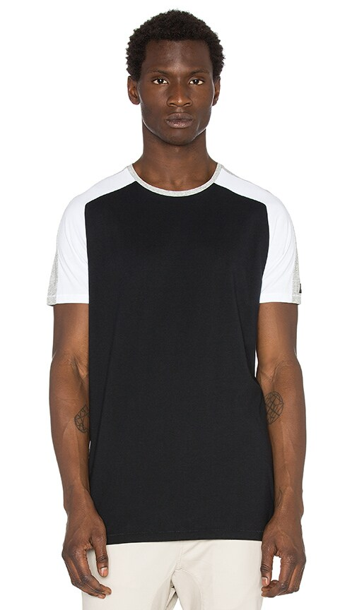Zanerobe Lunix Flintlock Tee in Black & White