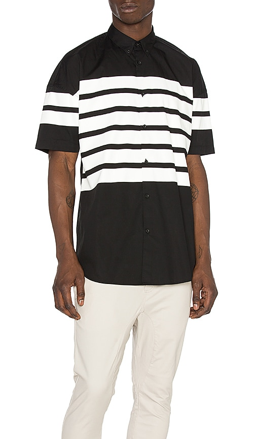 Zanerobe Highway Rugger Shirt in Black