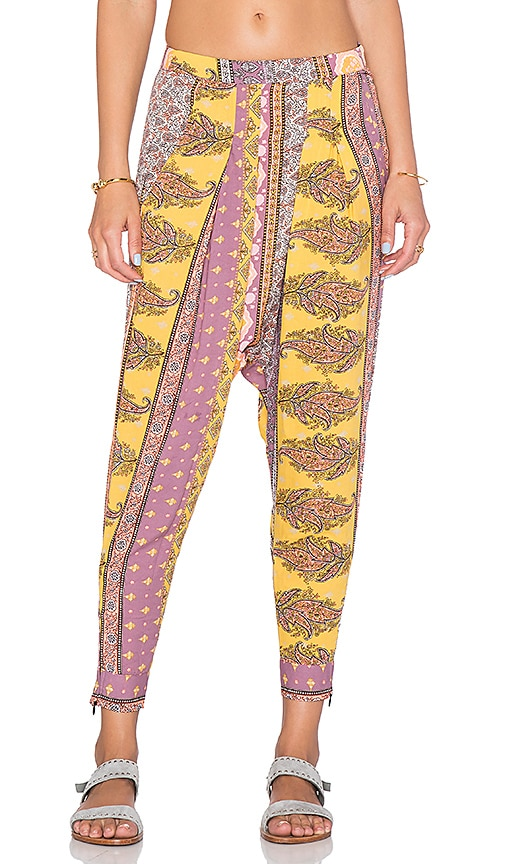 Z&L Harem Pant in Multi