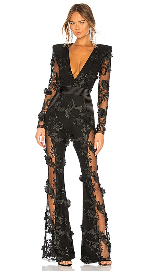 8e6a14ded5b Zhivago Where You Tend A Rose Jumpsuit in Black