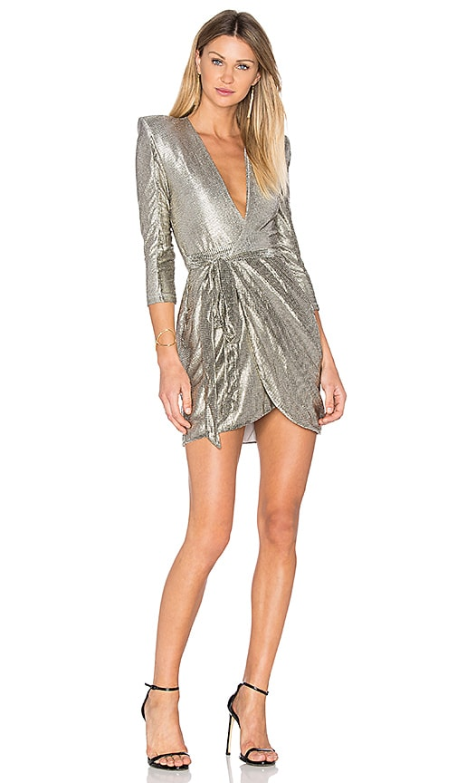 Zhivago The Madeleine Ashton Dress in Metallic Gold