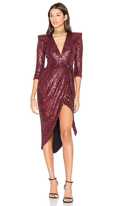 Zhivago x REVOLVE Kinsey Wrap Dress in Red