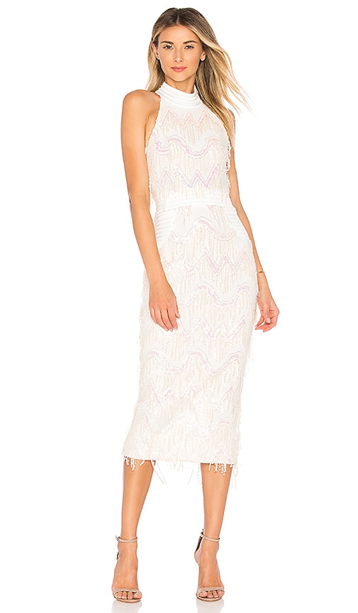 Zhivago Slow Motion Dress in White