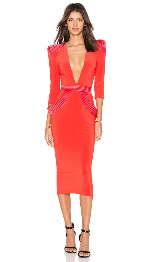 Zhivago Informant Dress in Orange