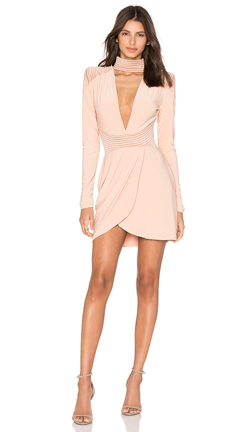 Zhivago Swallow Dress in Nude