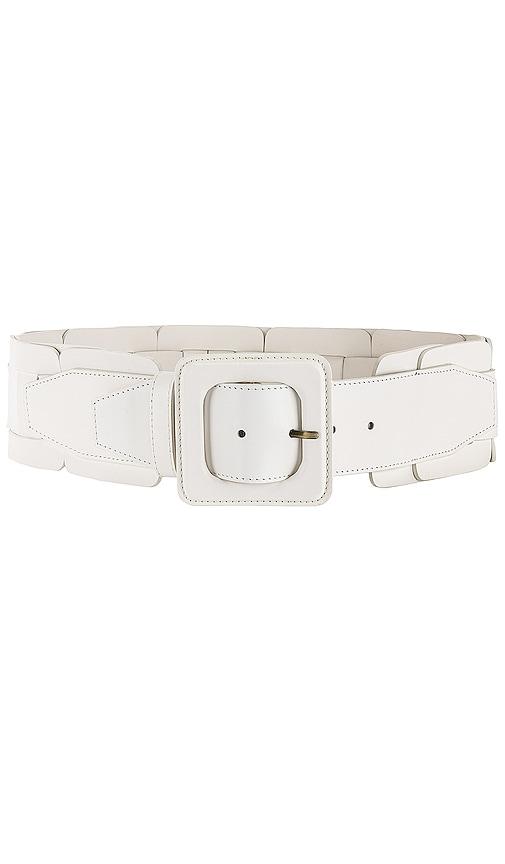 Square Link Wide Waist Belt