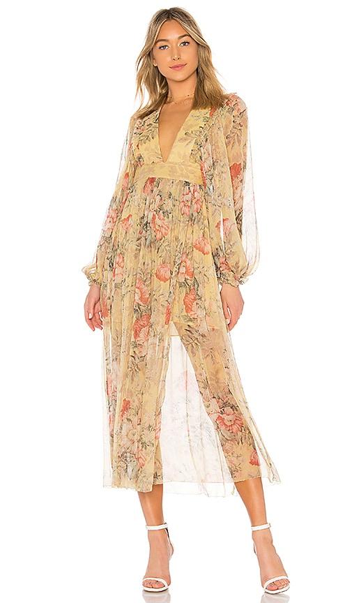 65b526848476e Zimmermann Melody Maxi Dress in Mustard Floral | REVOLVE