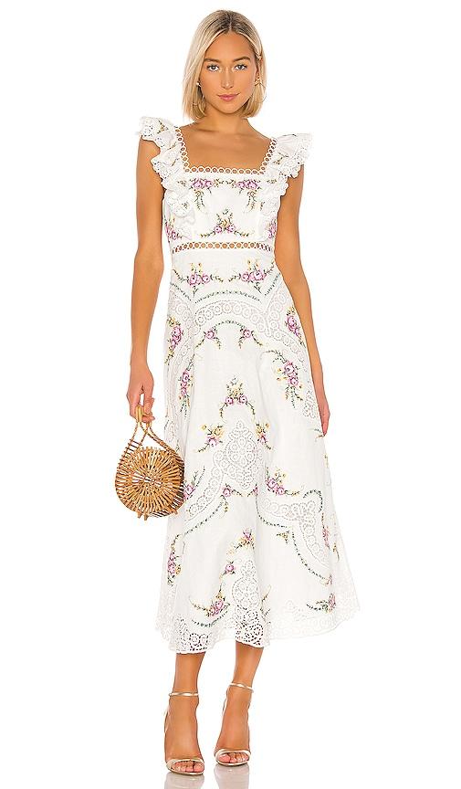 Allia Cross Stitch Dress