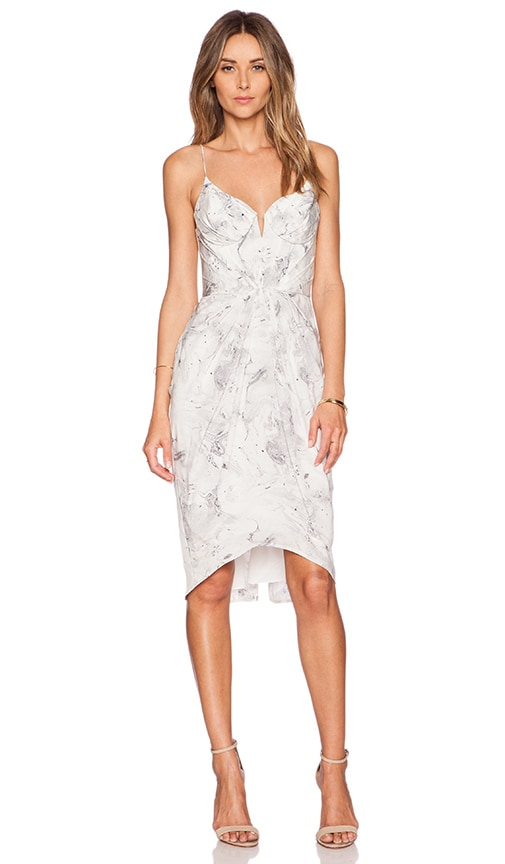 Zimmermann Balconette Dress in White