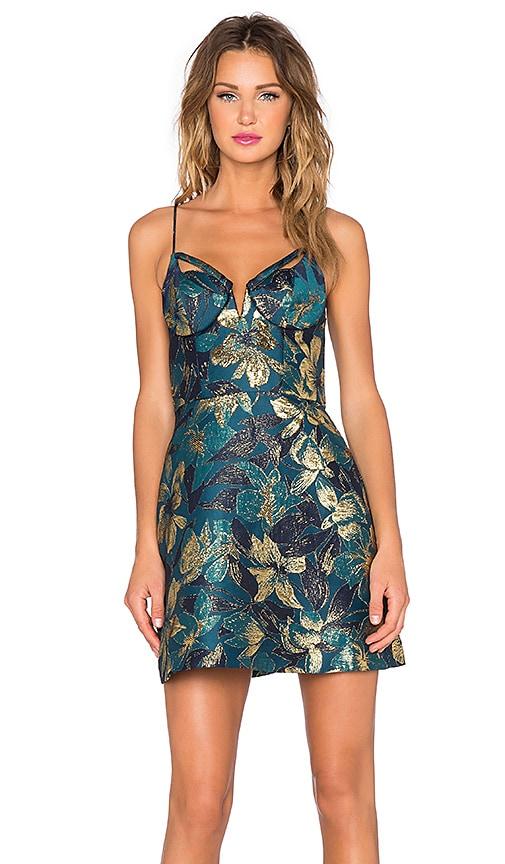 Esplanade Brocade Dress