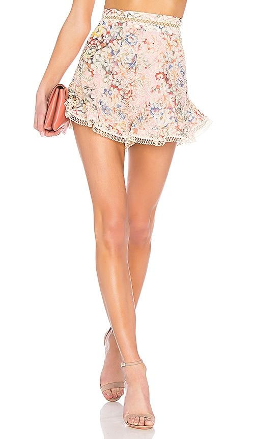 5957bd77bbd5a Zimmermann X REVOLVE Lovelorn Flutter Short in Pink Floral