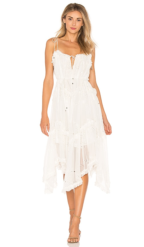 Prima Bow Floating Dress Zimmermann
