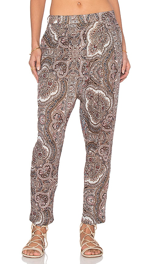 Zimmermann Epoque Track Pant in Paisley