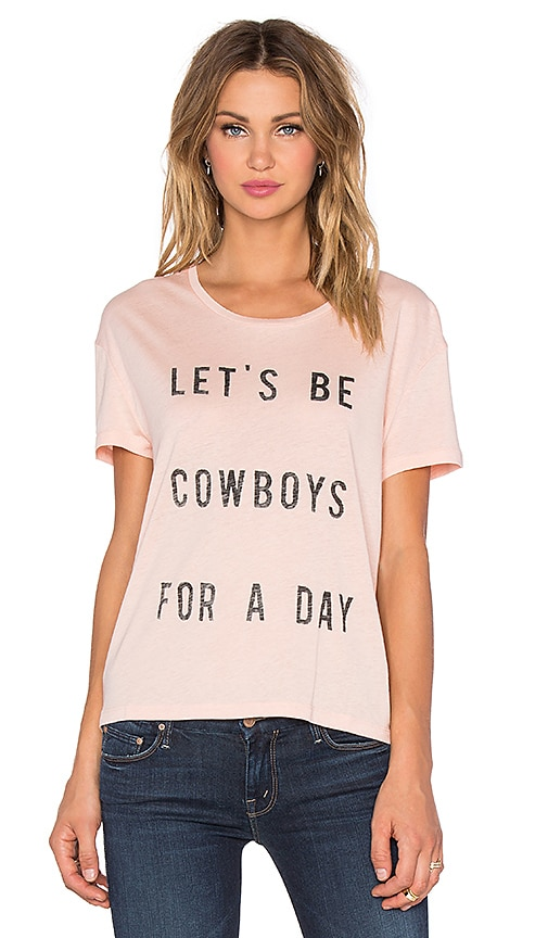Let's Be Cowboys for a Day Tee