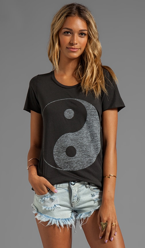 Yin Yang Loose Fit Short Sleeve Tee