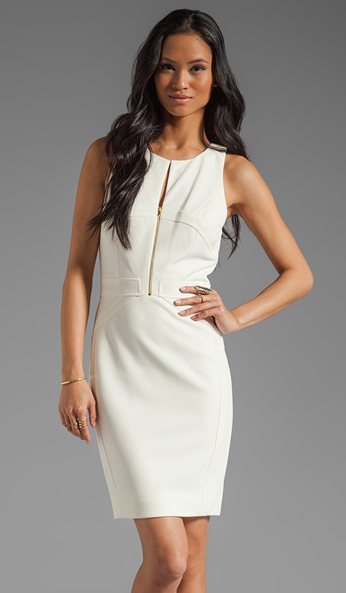 Sleeveless Body Con Dress