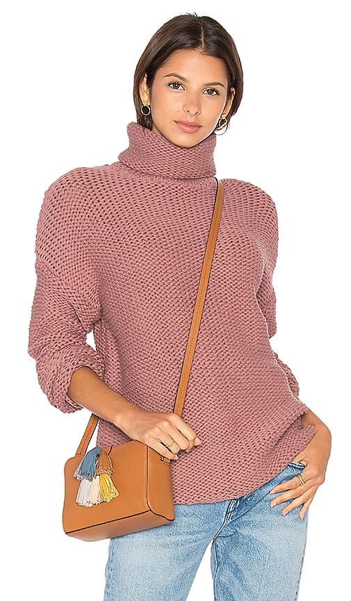 ZULU & ZEPHYR Ranger Knit Sweater in Rose