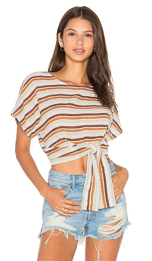 ZULU & ZEPHYR Terra Firma Wrap Top in White