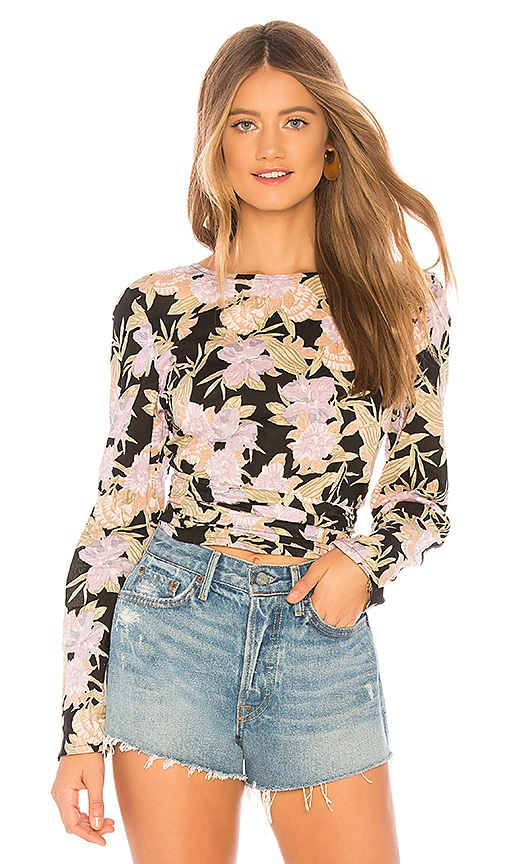 ZULU & ZEPHYR The Wild Top in Floral Print | REVOLVE