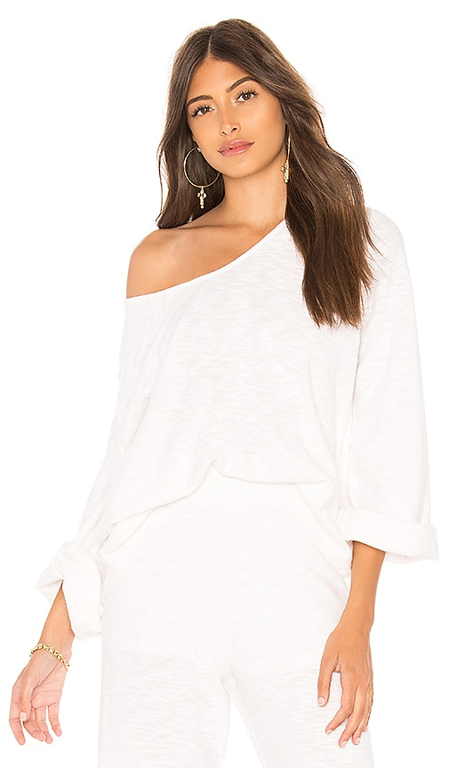 ZULU & ZEPHYR Lounge Top in White