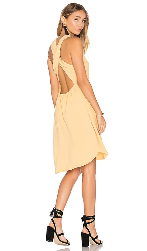 ZULU & ZEPHYR Full Sun Dress in Yellow