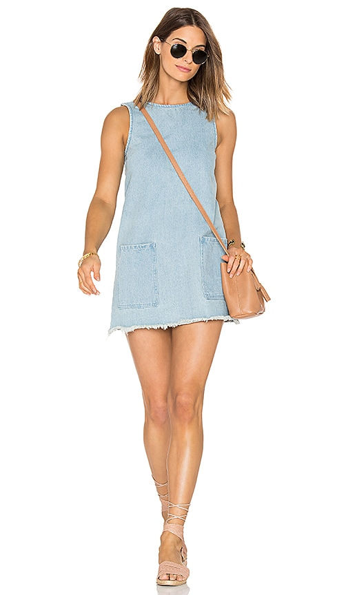 ZULU & ZEPHYR Estuary Shift Dress in Blue