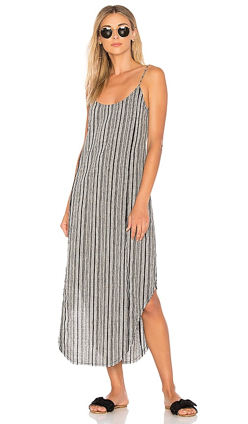 ZULU & ZEPHYR Shack Maxi Dress in Gray