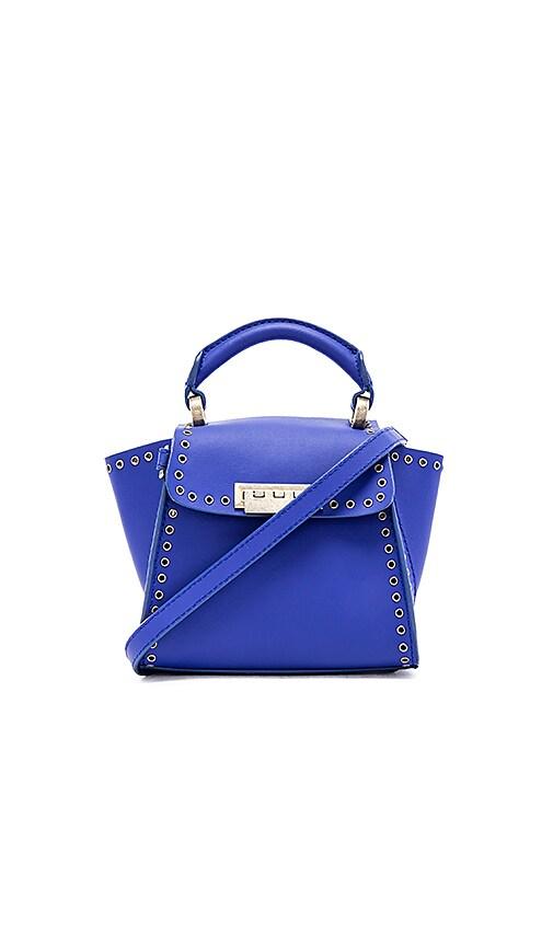 Zac Zac Posen Eartha Iconic Top Handle Mini Bag in Cobalt