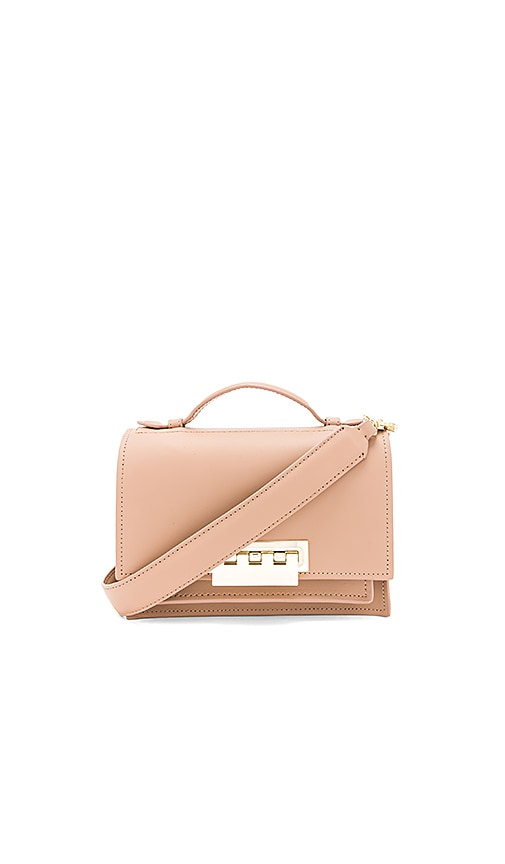 Zac Zac Posen Earthette Accordion Shoulder Bag in Tan