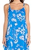 Rhi Tiered Hem Tank Dress, view 5, click to view large image.