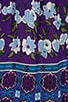 Scherazade Panel Print Crepe De Chine Dress, view 6, click to view large image.