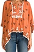 Cat and Birdcage Blouse, view 4, click to view large image.