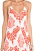 Isla Embroidered Silk Dress, view 5, click to view large image.