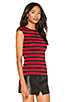 Love Train Stripe Top, view 2, click to view large image.